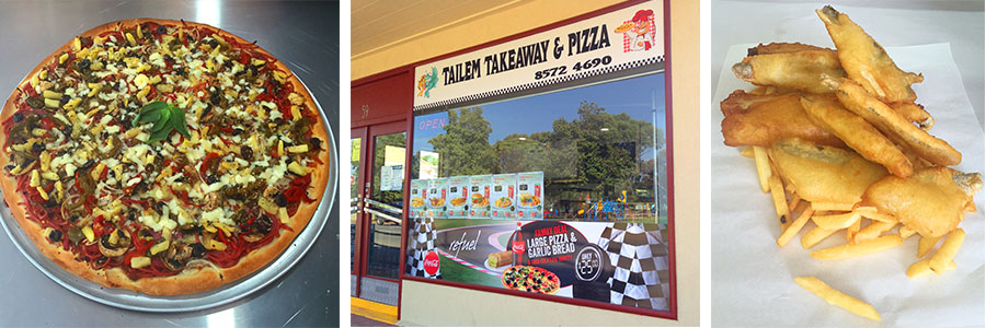 Traditional Pizzas, Fish and Chips - Tailem Takeaway & Pizza